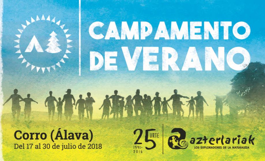 Campamentos de Verano, 2018